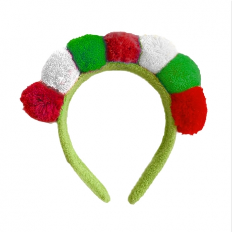 High quality simple design Italy Flag headband for Easter Festival