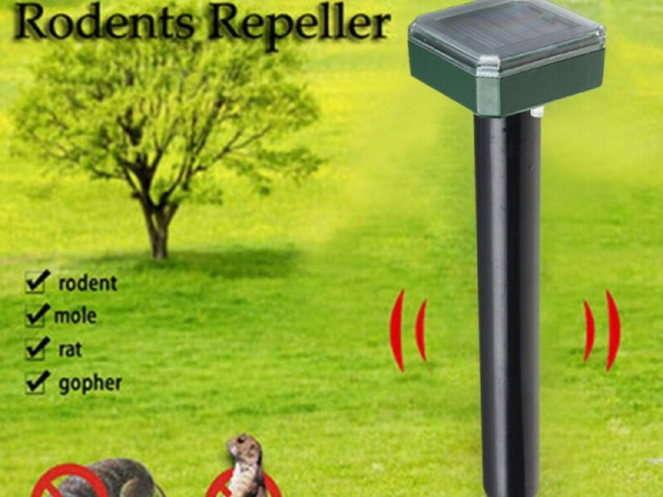 Wholesale Solar Powered Electronic Mole Snake Repellent