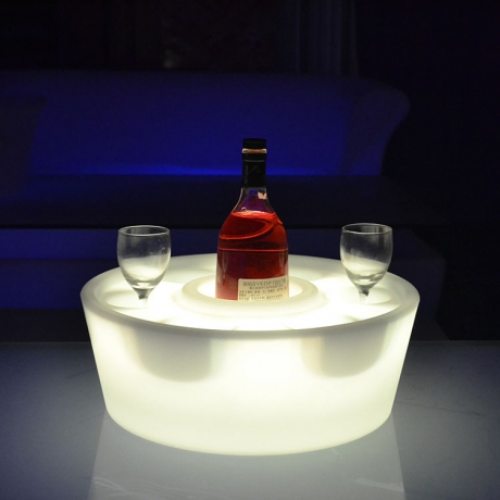 Bar 16 colors Remote control LED Luminous wine bottle holder