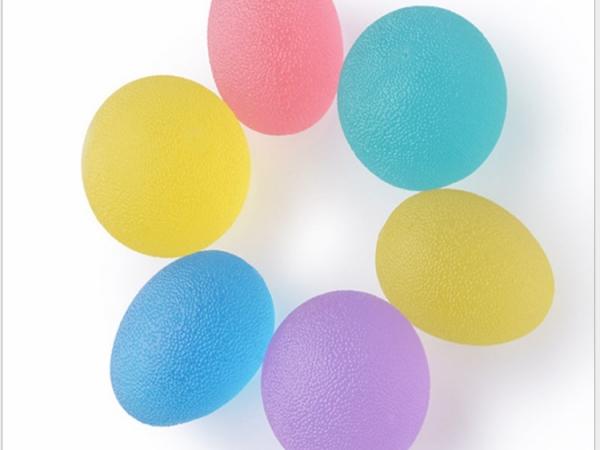 Fitness Round Stress Egg Shape Exercise Grip Ball