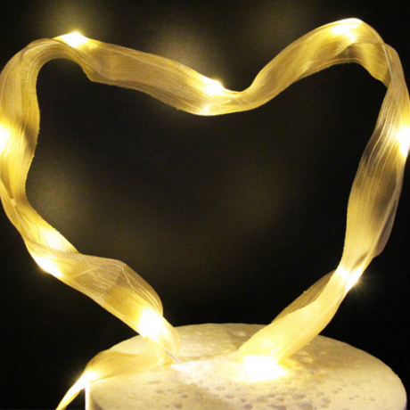 Decorative luminous led light ribbon