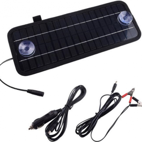 Solar car motorcycles battery charger