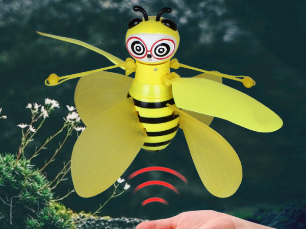 induction flying bee rechargeable aircraft