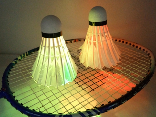 LED light Shuttlecock badminton