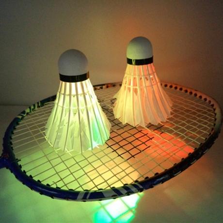 LED light Shuttlecock badminton