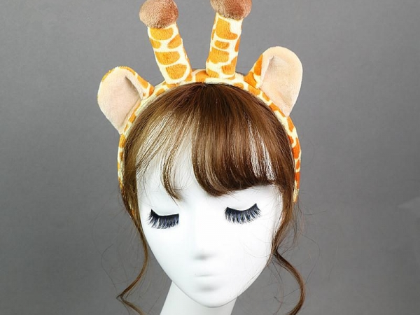 Giraffe horns headband