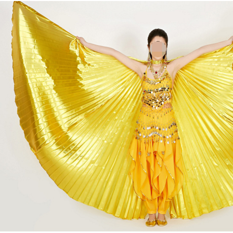 Belly dancing super gold wings