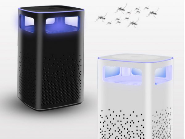 Photocatalyst inhalation mosquito killer lamp