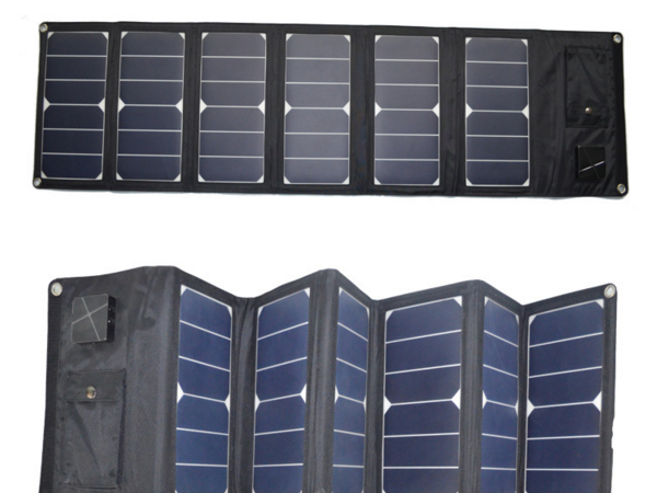 High power foldable solar charger