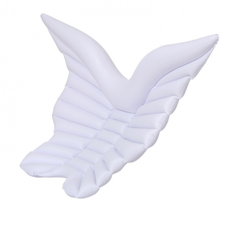 Inflatable angel wing float bed (INF-3001)