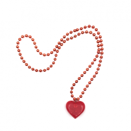 New Heart-shaped Creative Flashing Necklace