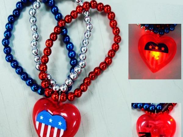 LED light chain Pendant Bracelet