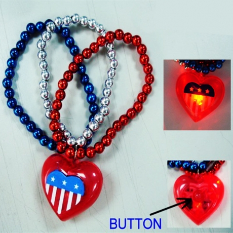 LED light chain Pendant Bracelet