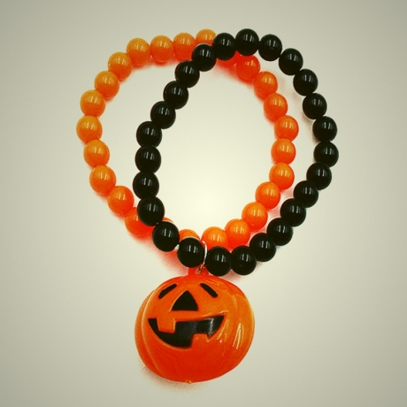 LED Big Pumpkin Pendant Bracelet