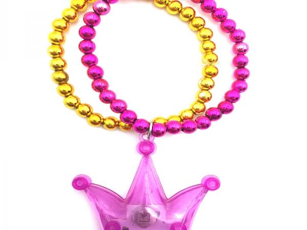 LED Crown chain Pendant Bracelet