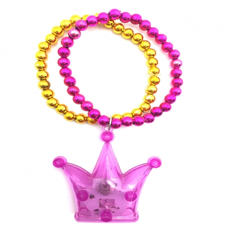 LED Crown chain Pendant Bracelet