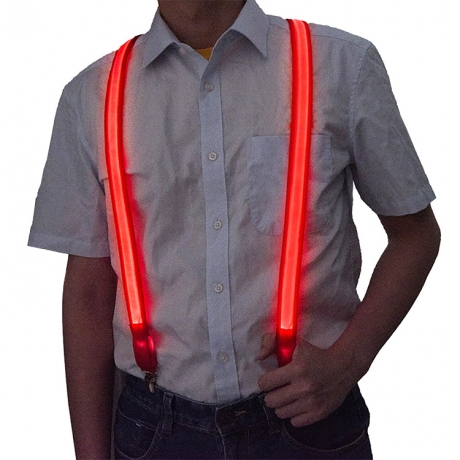 LED flat optical fiber luminous strap (JY-41)