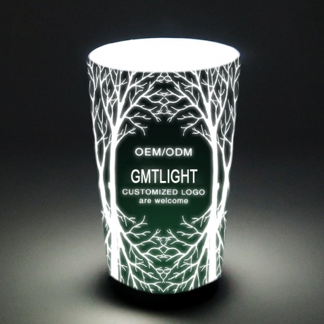 Christmas Led Liquid Activating Plastic Cup with Custom Logo