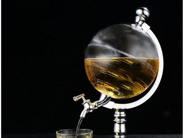 Globe wine separator dispenser beer tower