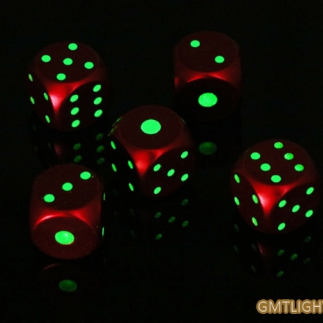 Luminous Game Dice Glow in Dark dice
