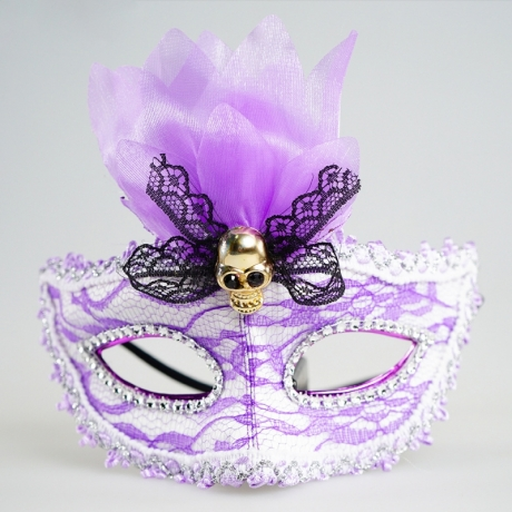 Masquerade party decorations LED Fiber Light up Mask