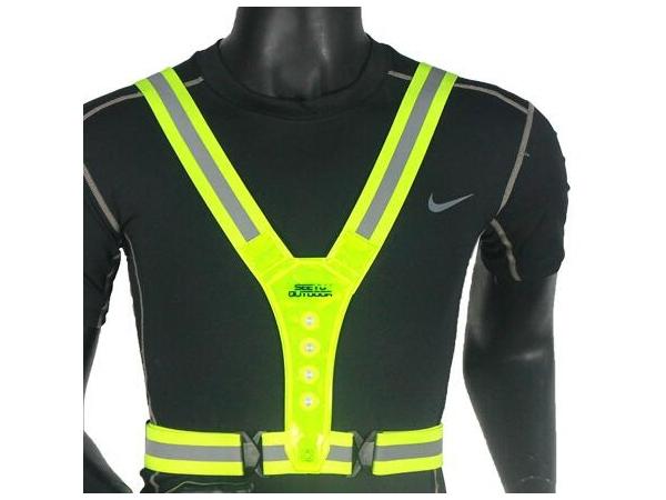Multi purpose safety reflective vest