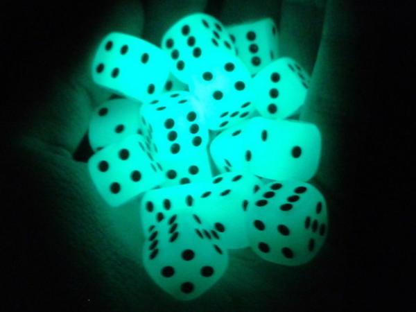 luminous dice