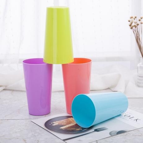 500ml 17oz Food grade Plastic PP Cup (LL-008)