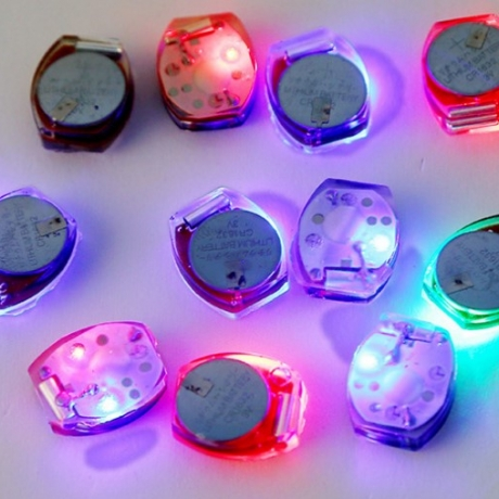 Vibration switch LED flash toy accessories