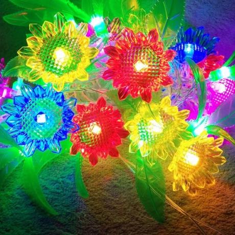 Sunflower led light string