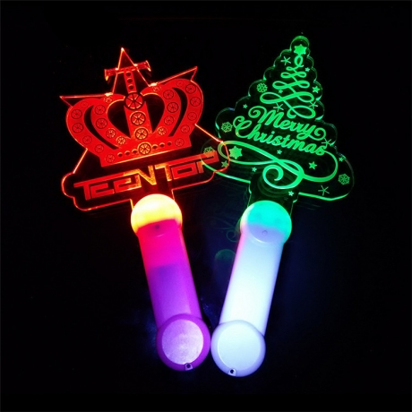 Customized logo Acrylic light stick(FSP-18)