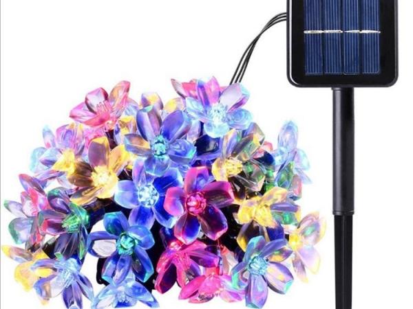 Solar cherry blossoms string light (ML-035S)