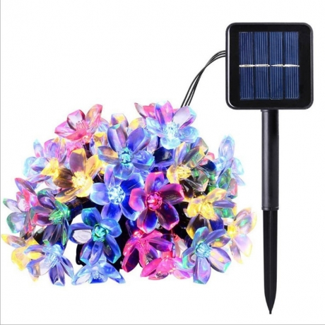 Solar cherry blossoms string light (ML-035S)