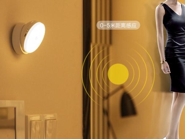 360 degree human body induction night light