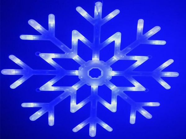 LED light Christmas Super snowflake