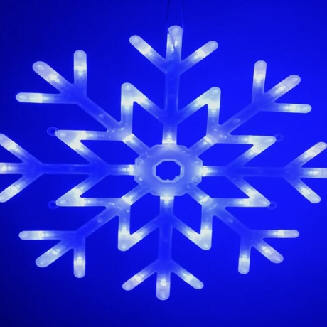LED light Christmas Super snowflake