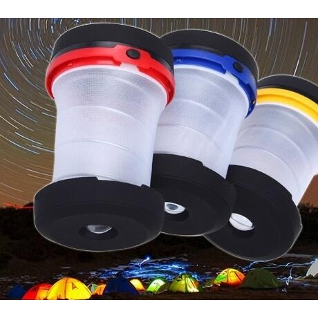 Mini foldable camping lights for promotional
