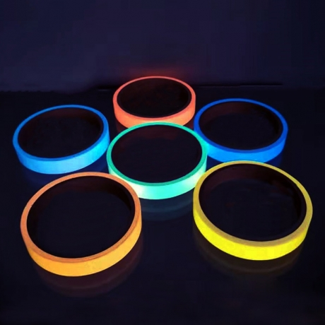 Luminous glow in dark signal tape (G-TP01)