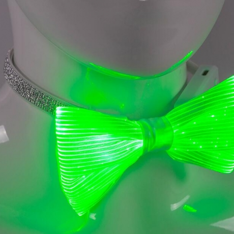 High quality optical fiber luminous bow tie