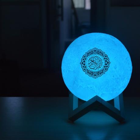 USB Charging Moon lamp quran speaker