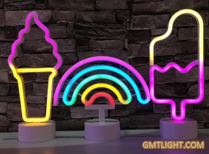 neon night light