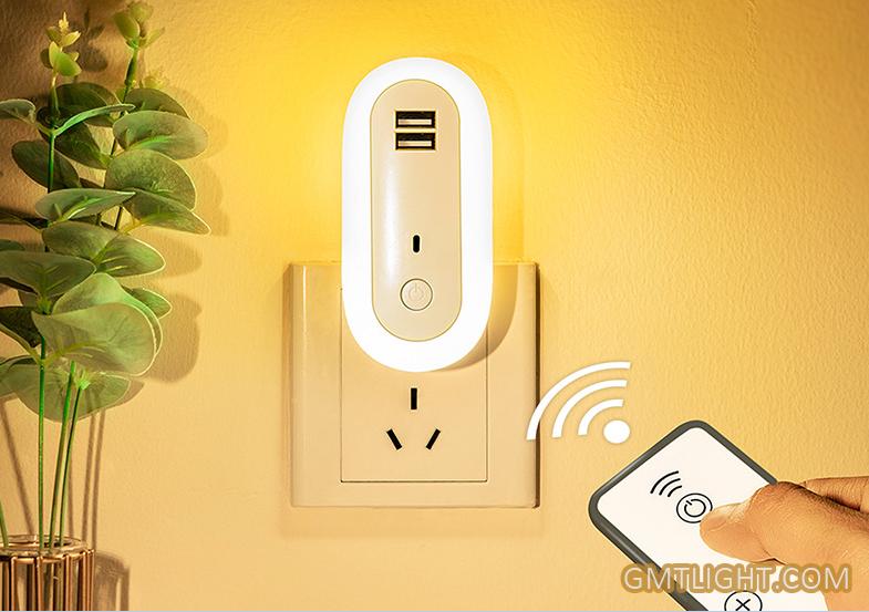 small night light with usb plug