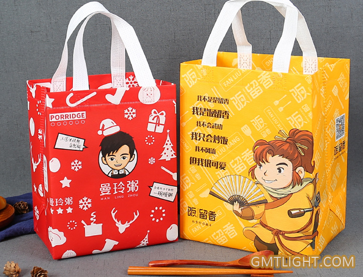 non woven advertising bag production