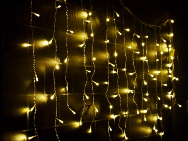 LED ice strip curtain light with 5M width