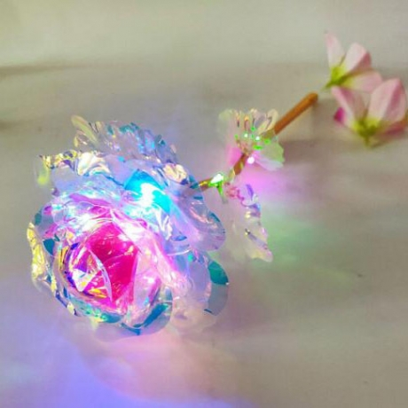 Luminous LED 24K Golden flashing Rose