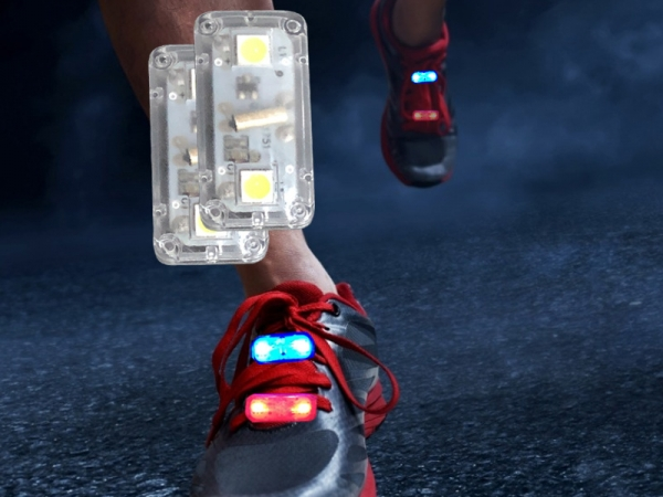 LED flashing vibration shoe light (Item: ELS-05)