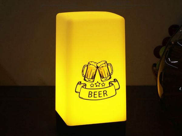 Fashion LED luminous in dark desk lamp (No.ML-039)