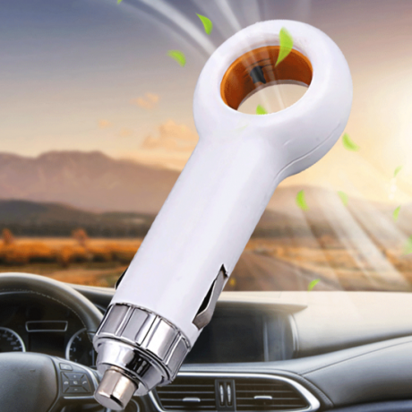 Anion air purifier for automobile