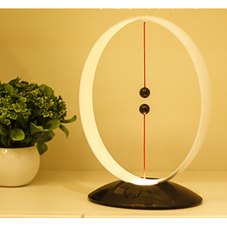 Suspended magnetic switch rechargeable LED lamp