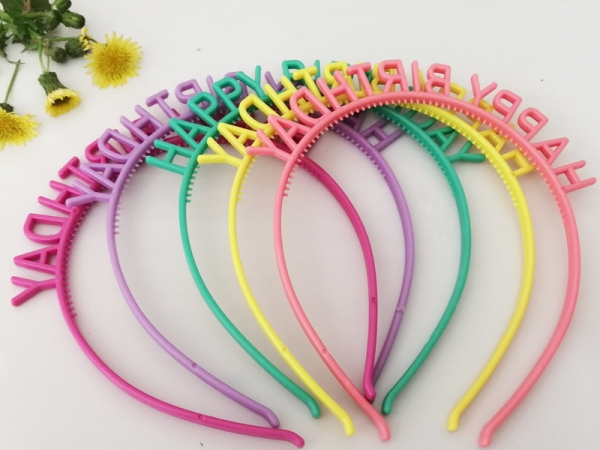 Girl Birthday party headdress hair clip band (D-31)
